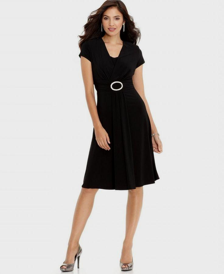 e07a2ba77829 Macy's Black Dress with White Polka Dots – Fashion dresses
