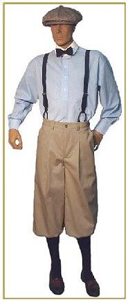 1920s style mens clothing photo - 1
