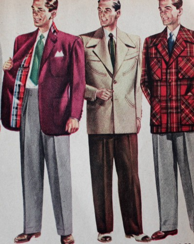 1950s style mens clothing photo - 1