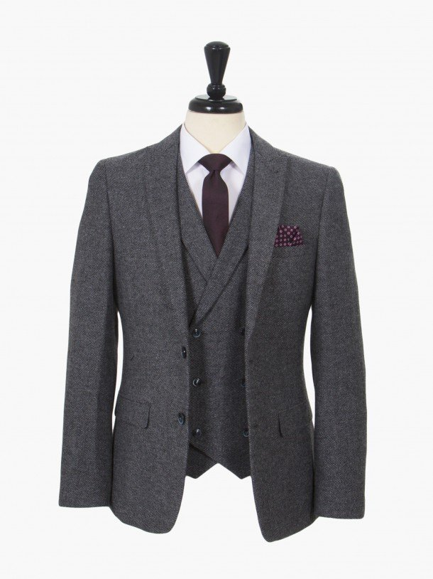 are mens double breasted suits in style photo - 1