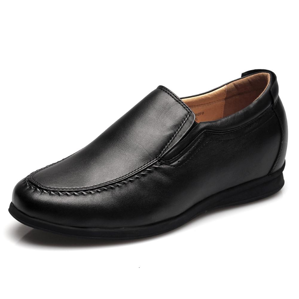 black casual dress shoes mens photo - 1