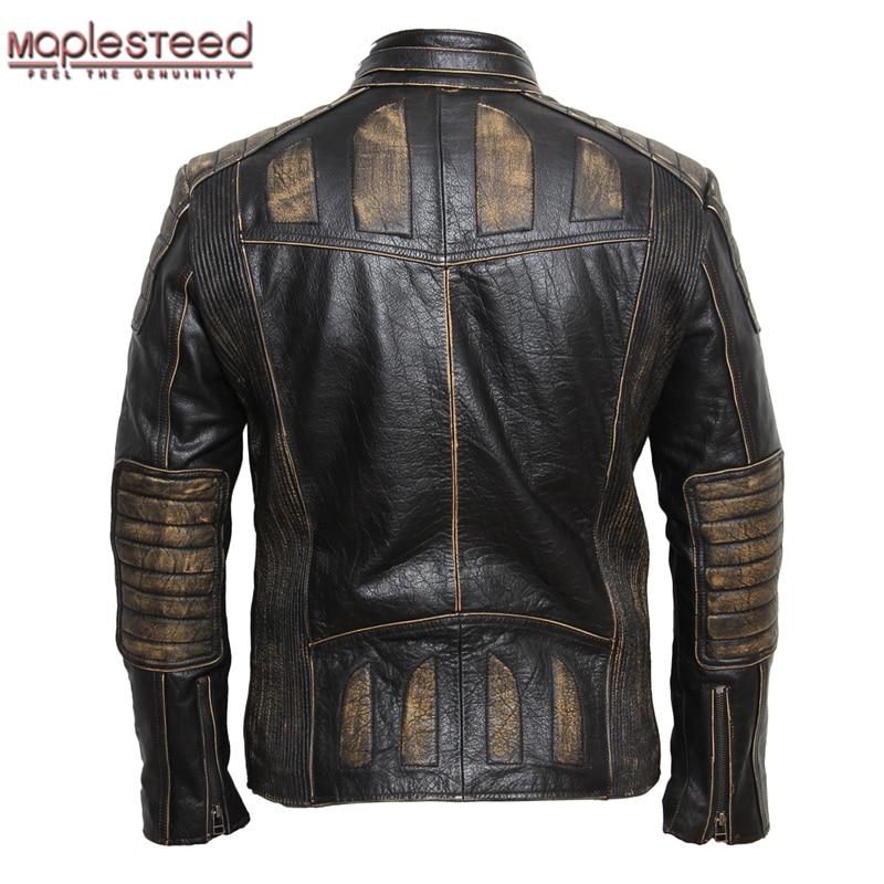 black leather jacket mens style photo - 1