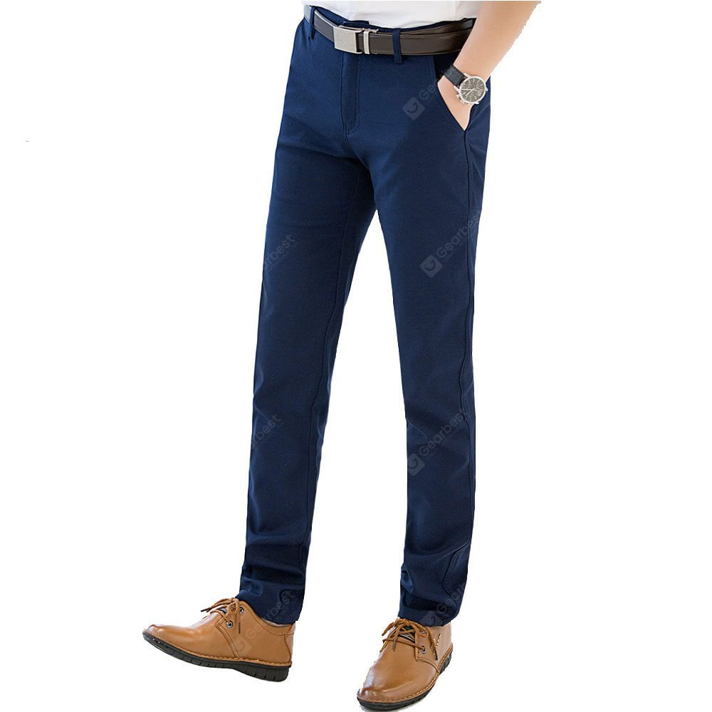 blue pants business casual photo - 1