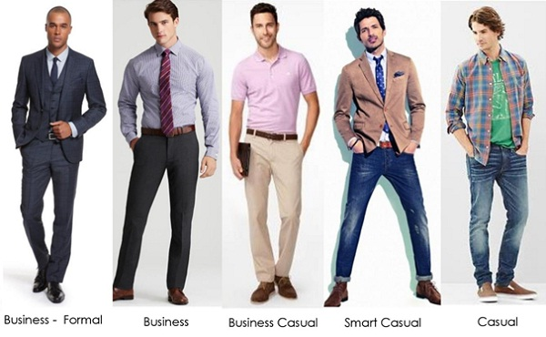 business attire vs business casual photo - 1