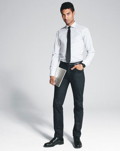 business casual attire for men interview photo - 1