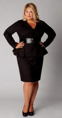 business casual attire plus size photo - 1