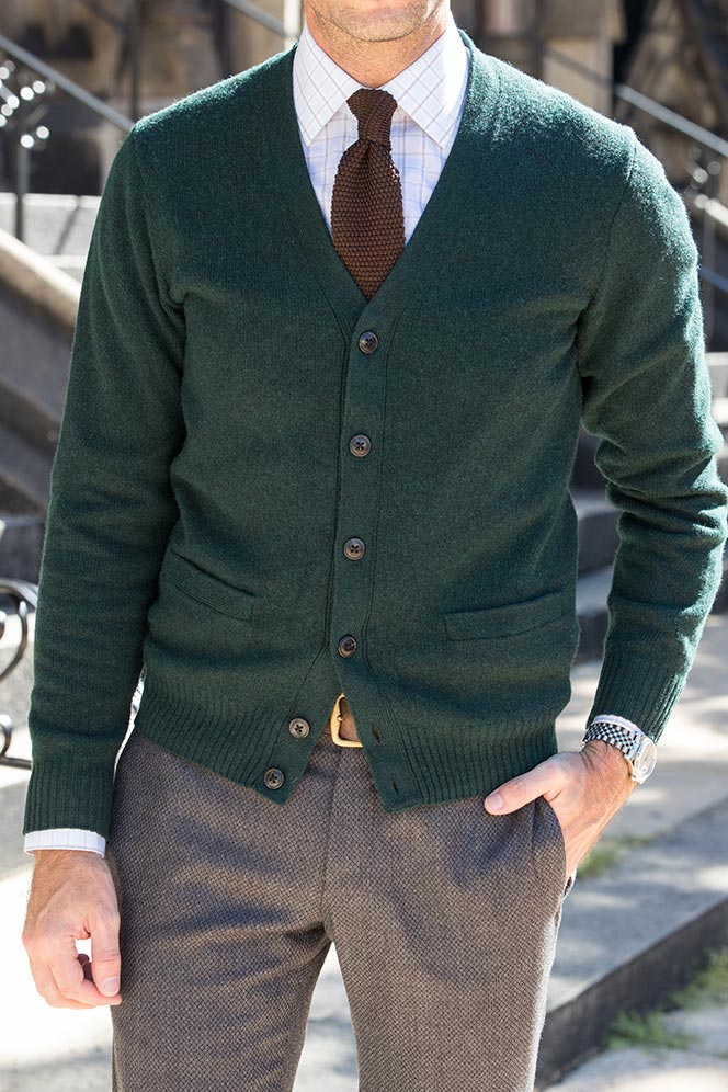 business casual cardigan photo - 1