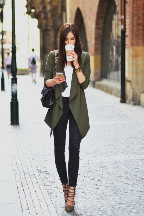 business casual cardigan women photo - 1