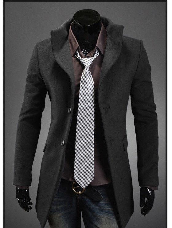business casual coat men photo - 1