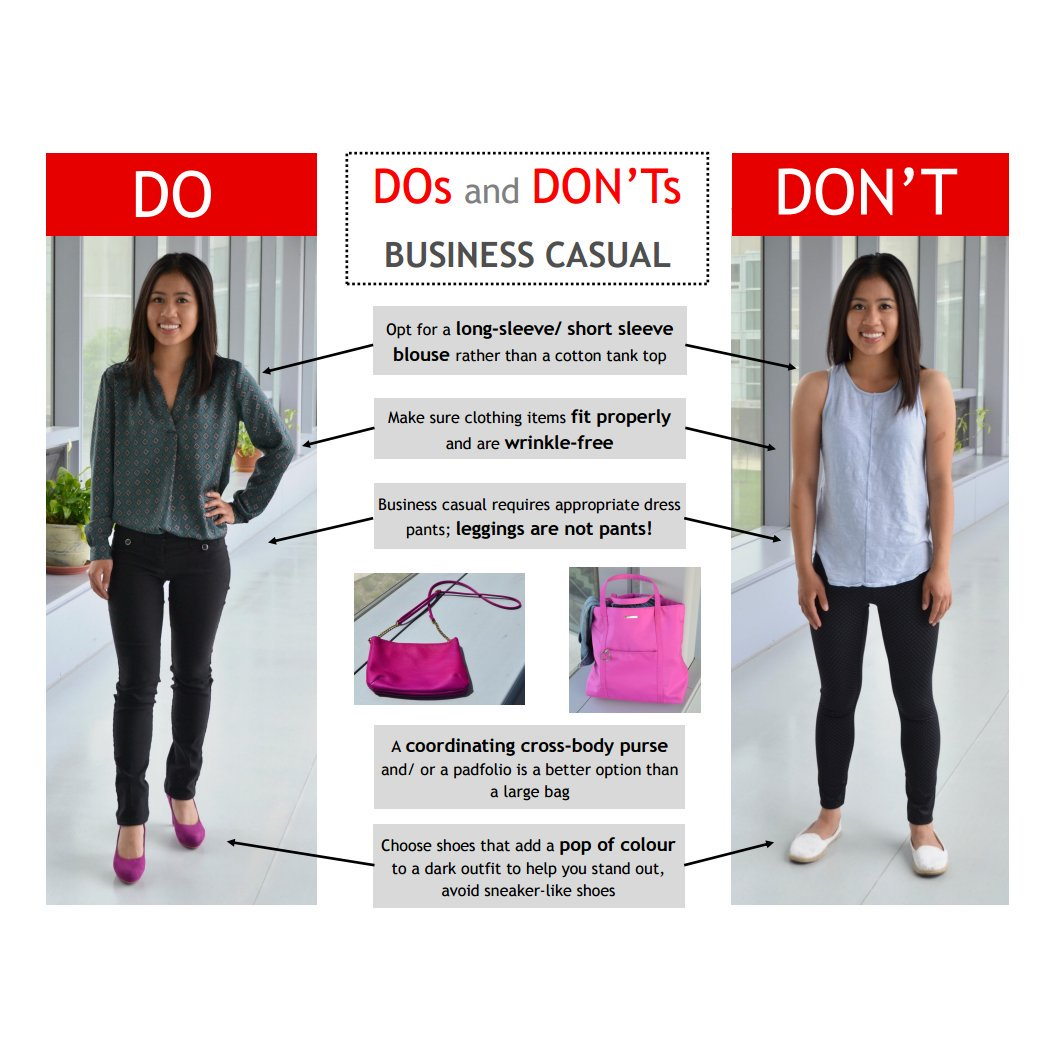 business casual dos and donts photo - 1