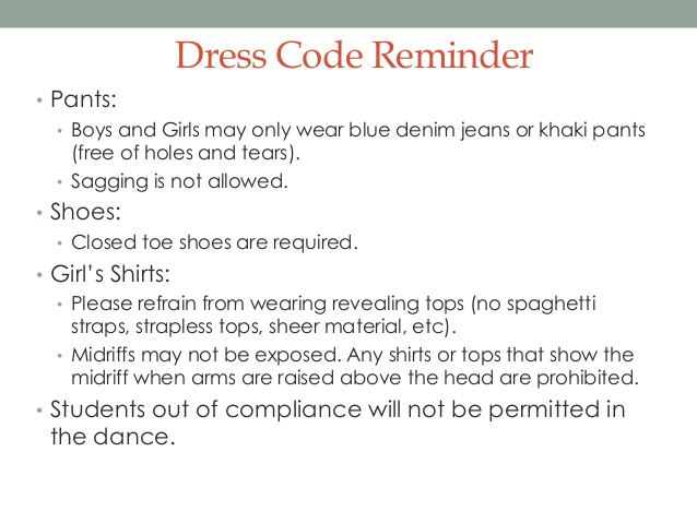 business casual dress code policy photo - 1