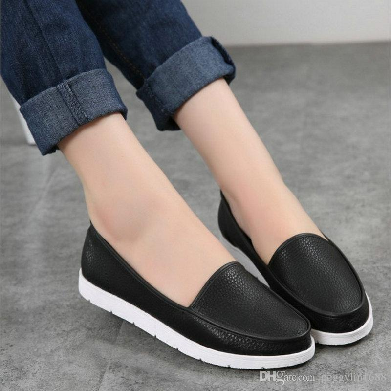 business casual female shoes photo - 1