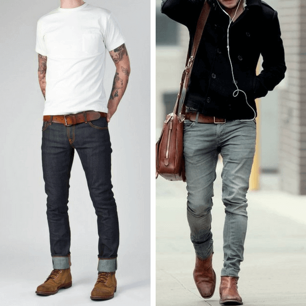 business casual jeans men photo - 1