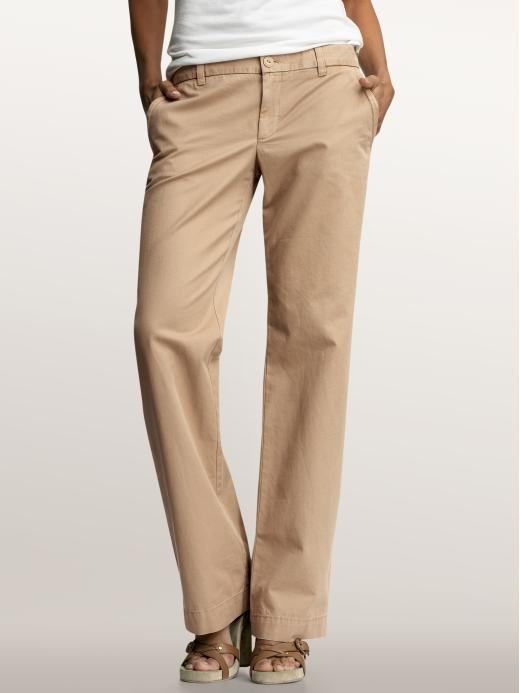 business casual khakis women photo - 1