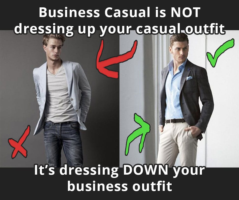 business casual meaning photo - 1