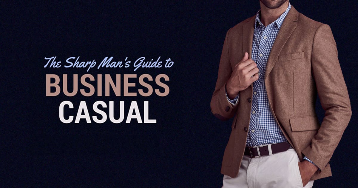business casual men examples photo - 1