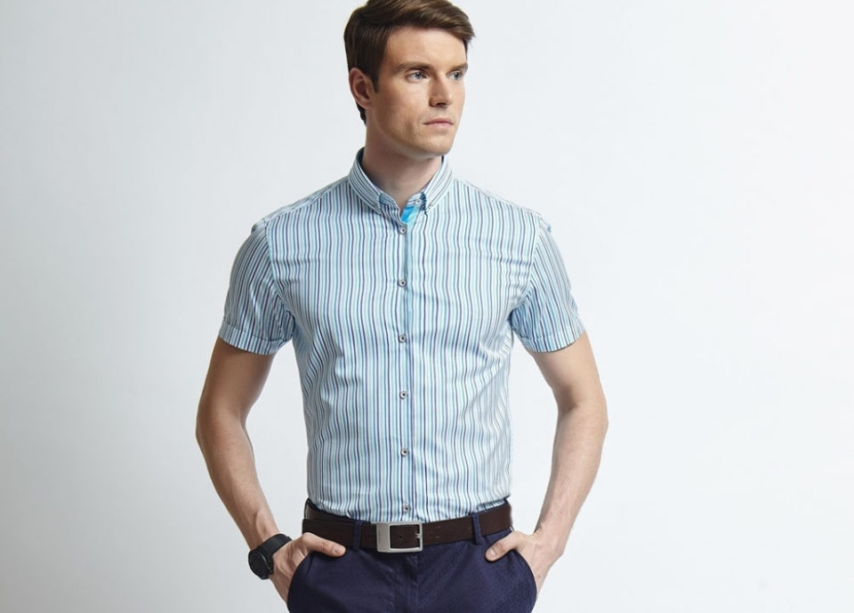 business casual men polo photo - 1