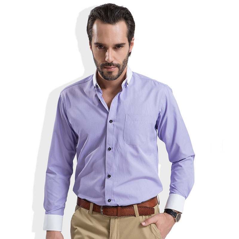 business casual men shirt photo - 1