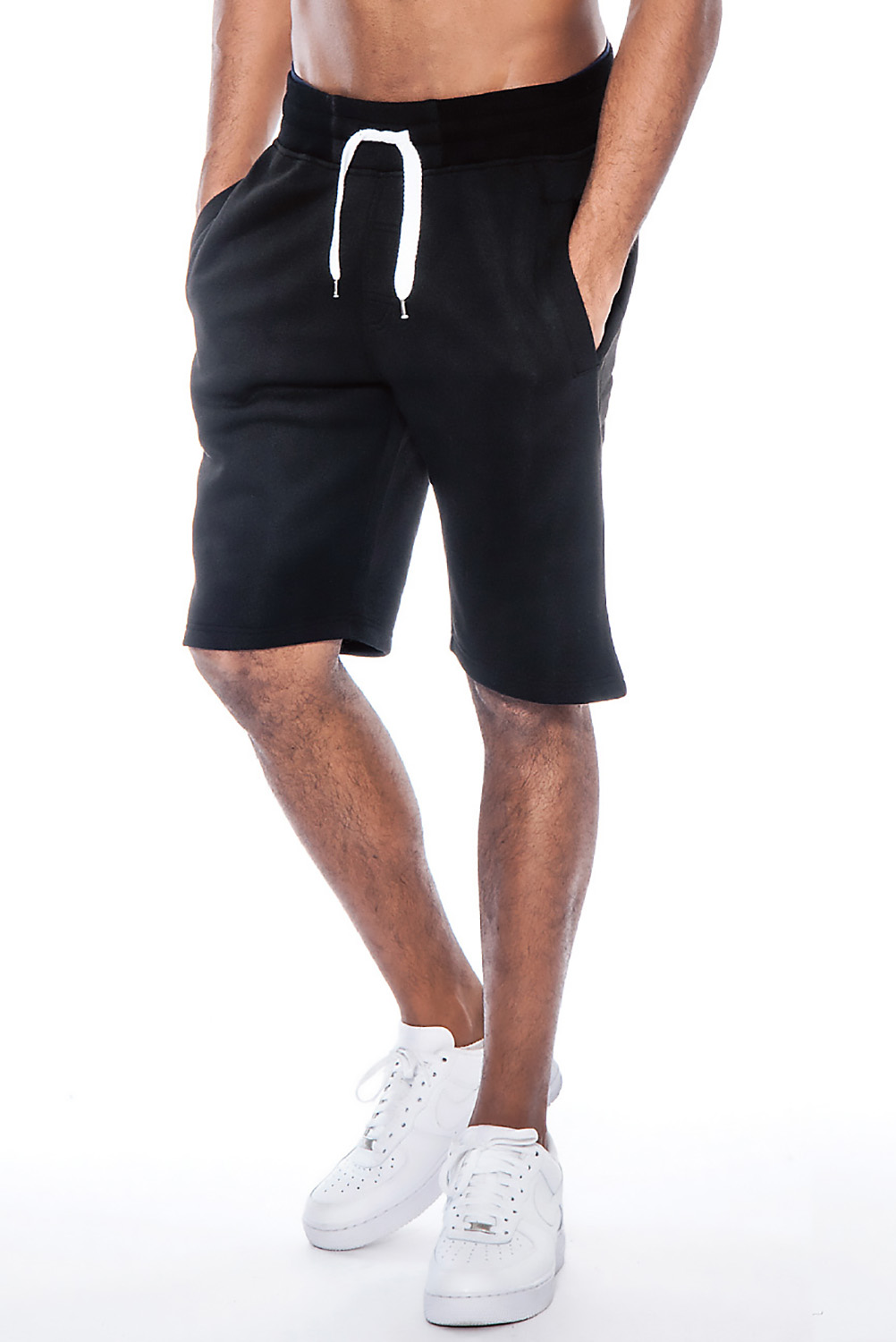 business casual men shorts photo - 1