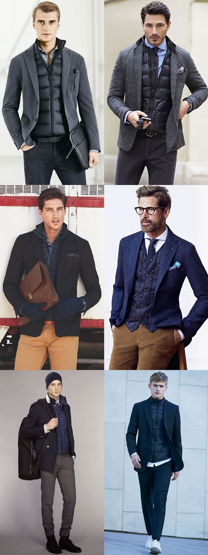 business casual men winter photo - 1