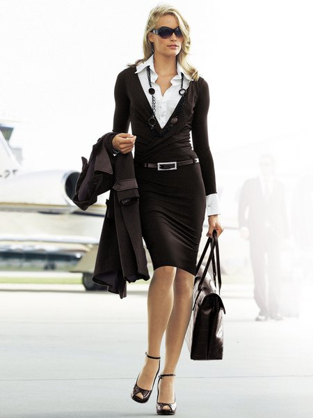 business casual older women photo - 1
