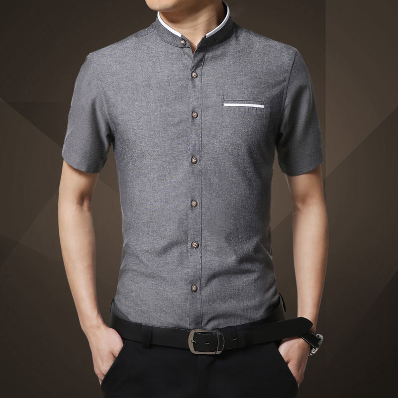 business casual short sleeve photo - 1