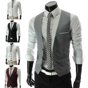 business casual vest photo - 1
