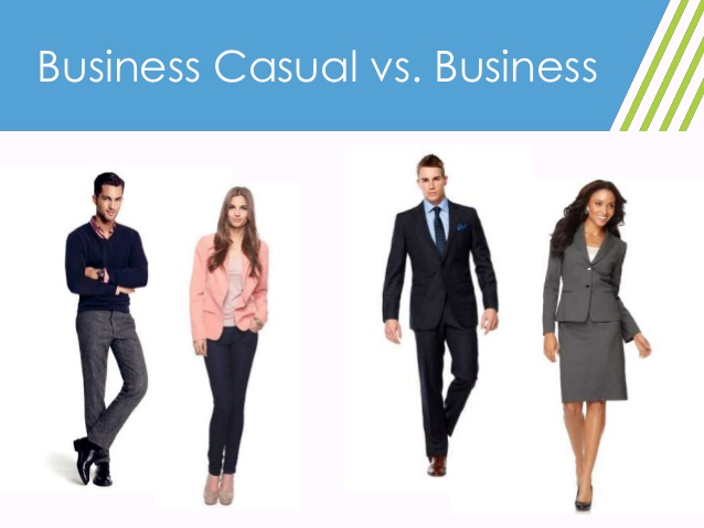business casual vs formal photo - 1
