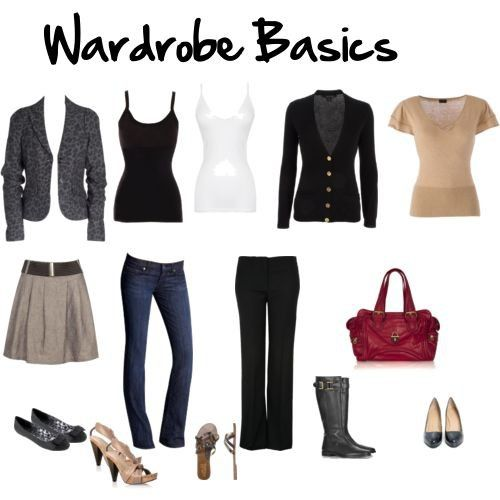 business casual wardrobe basics photo - 1