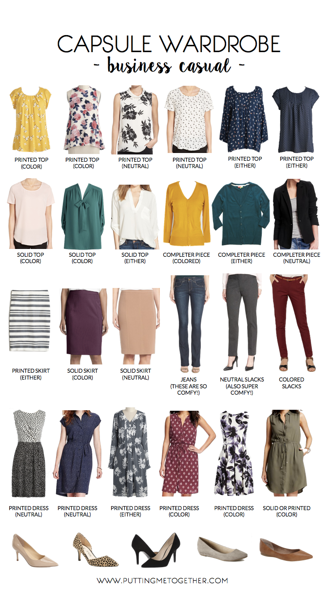 capsule wardrobe business casual photo - 1