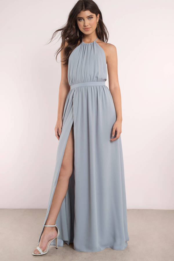 casual backless dress photo - 1