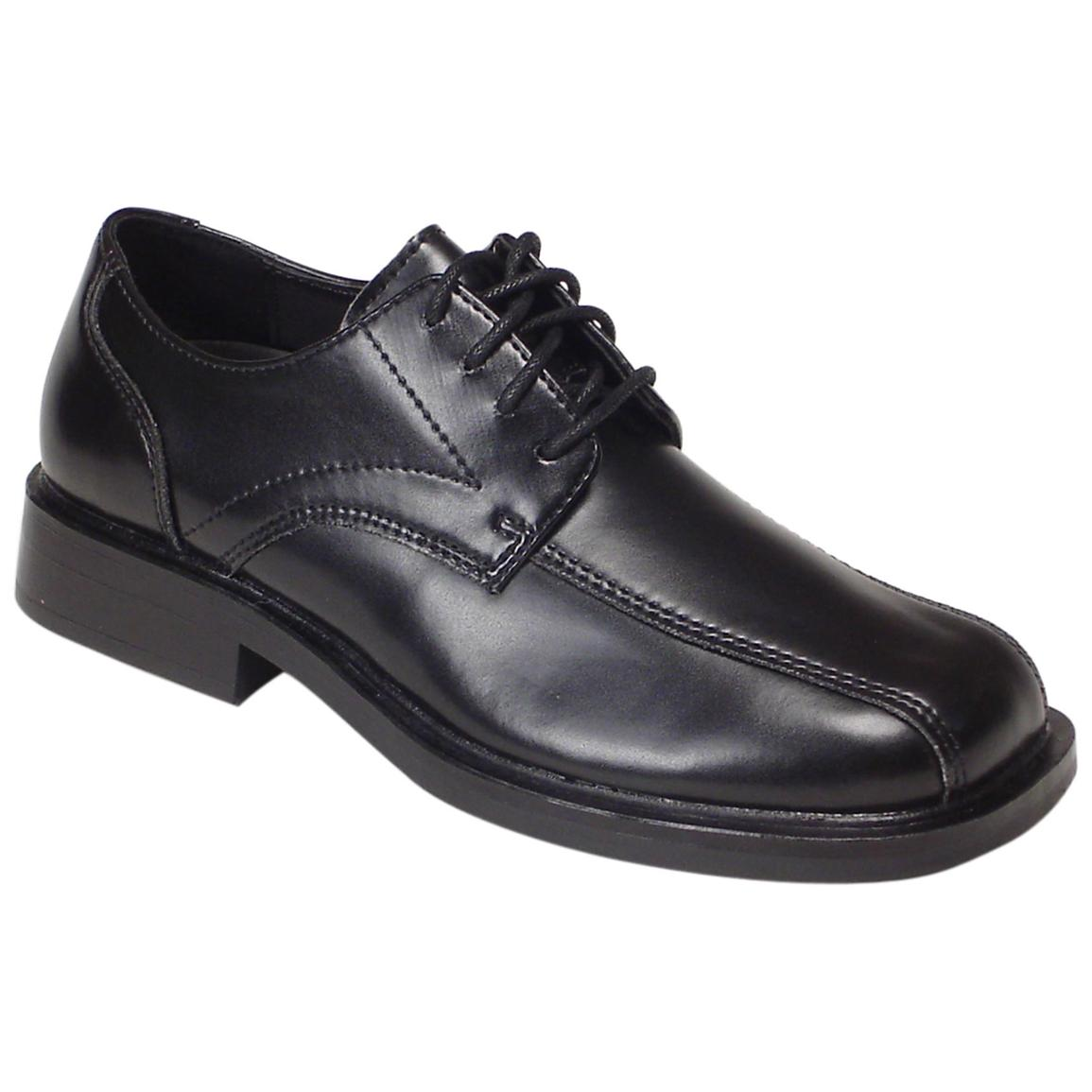 casual black dress shoes photo - 1