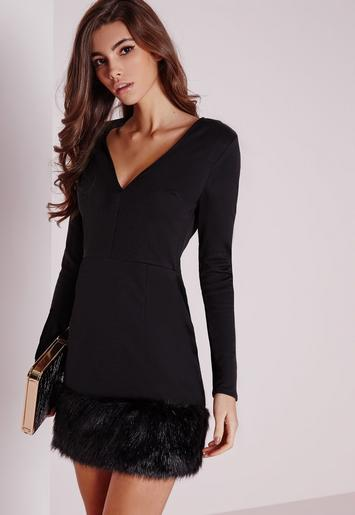 casual bodycon dress outfit photo - 1