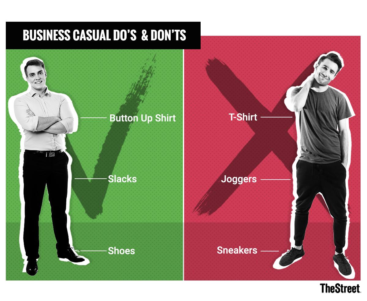 casual business attire men photo - 1