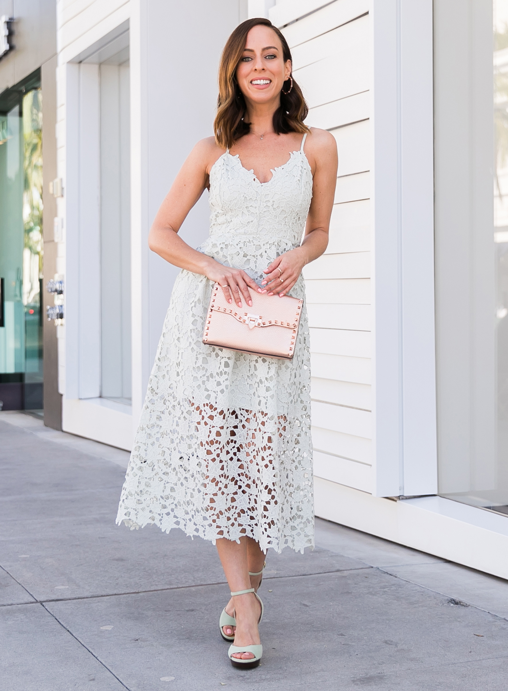 casual dress for fall wedding photo - 1