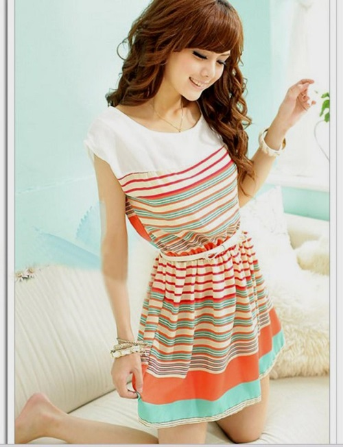 casual dress for teenage girl photo - 1