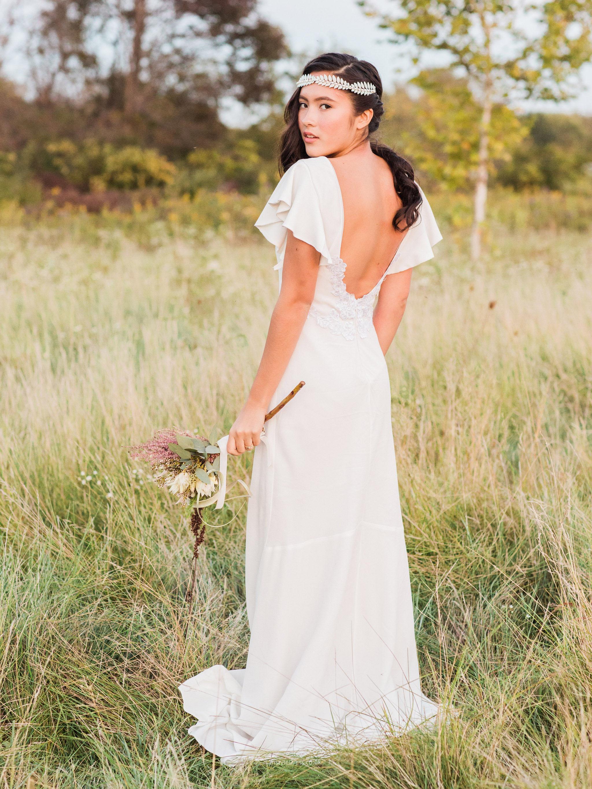 casual dress long sleeve photo - 1