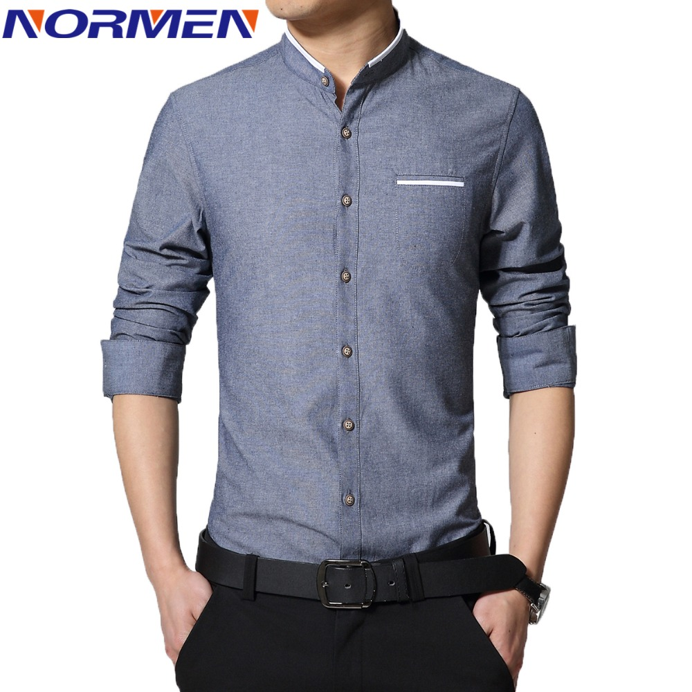 casual dress shirt for men photo - 1
