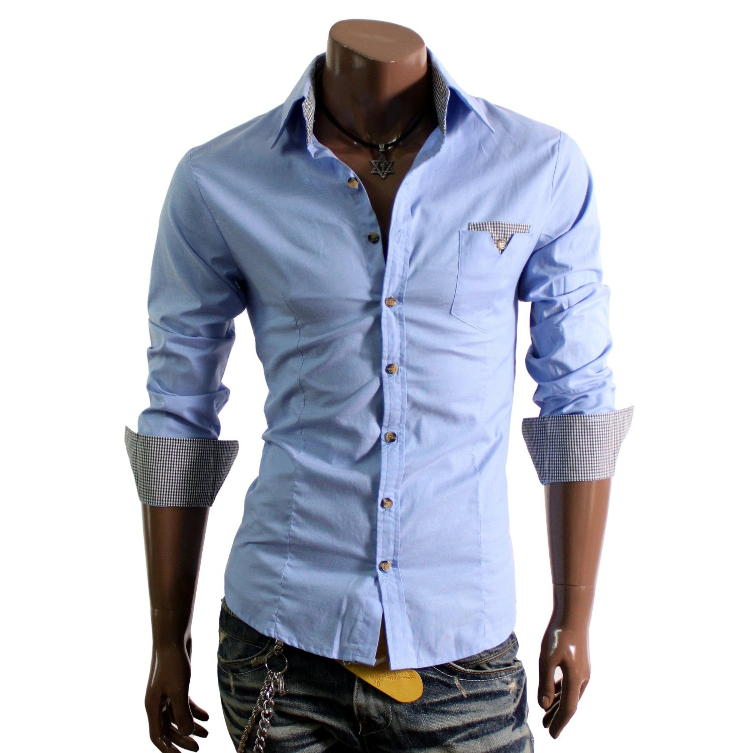 casual dress shirts for men photo - 1