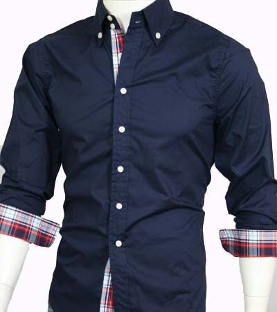 casual dress shirts slim fit photo - 1
