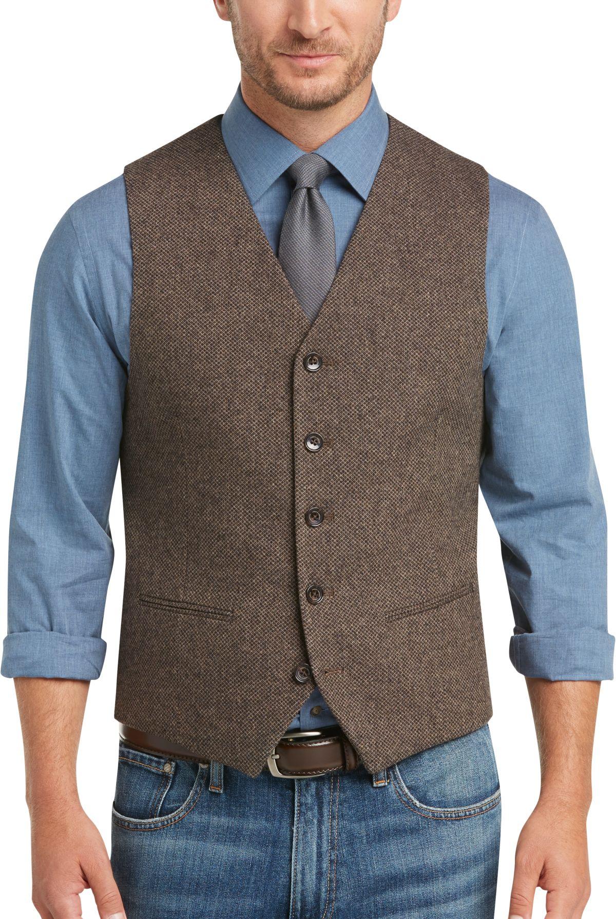 casual dress vest photo - 1