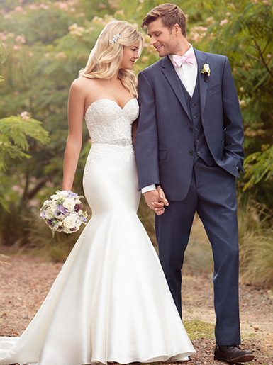 casual fall wedding dress photo - 1