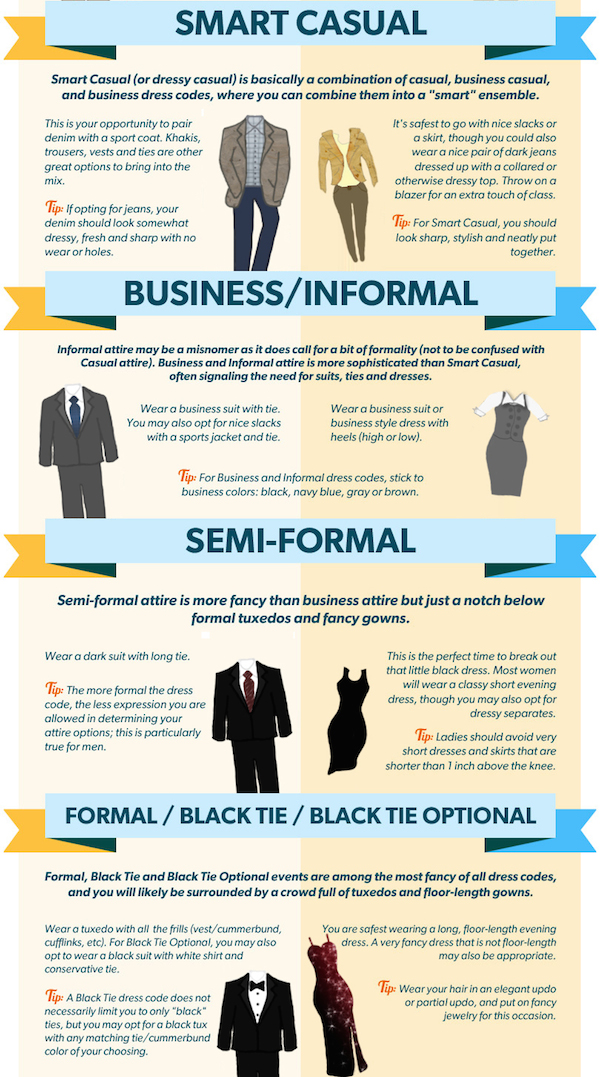 casual formal dress code photo - 1