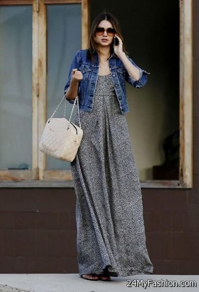 casual maxi dress outfits photo - 1