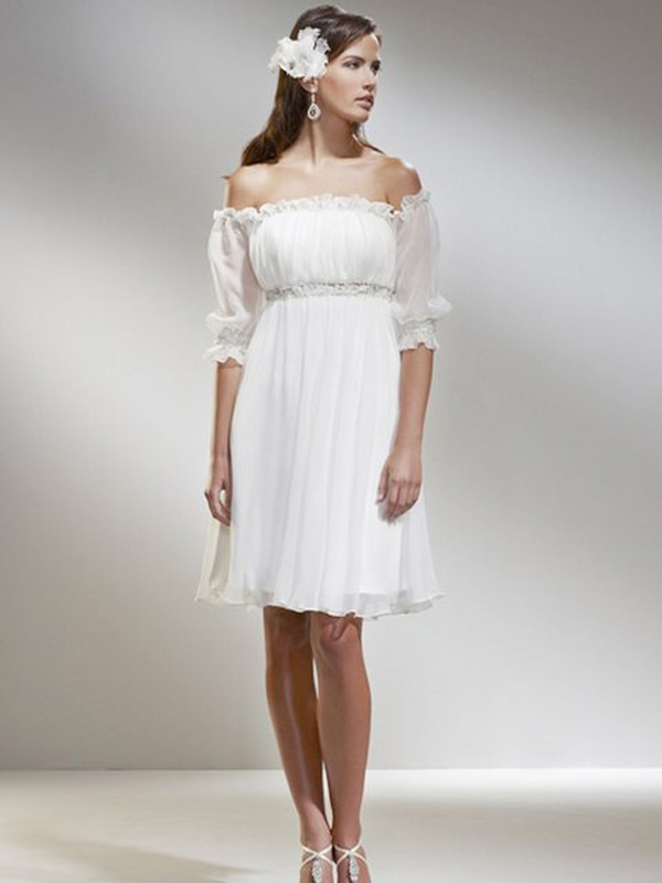 casual mother of bride dress photo - 1