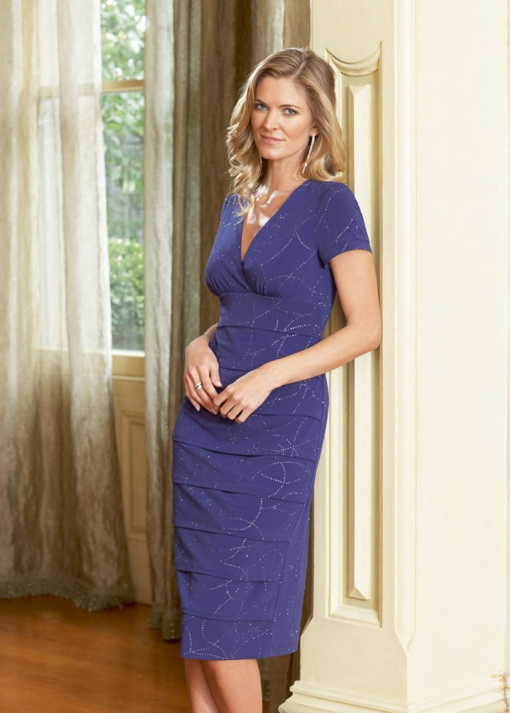 casual mother of the bride dress photo - 1