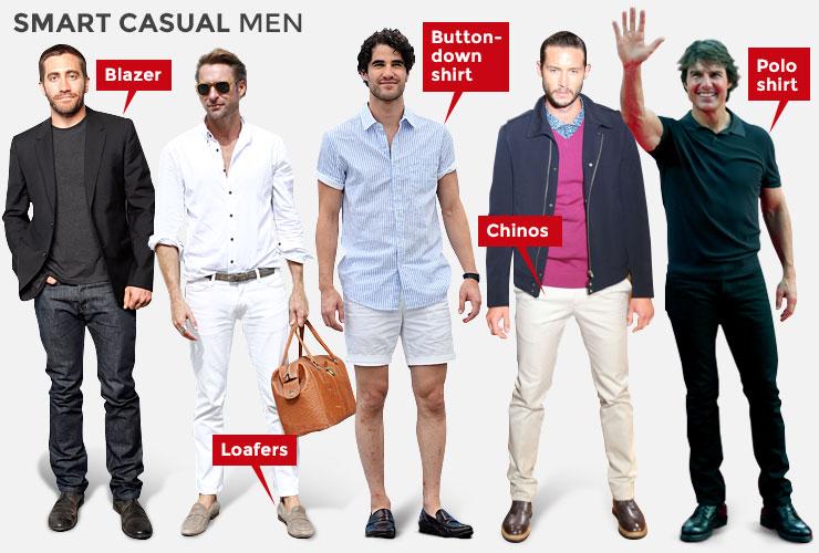 casual neat dress code photo - 1