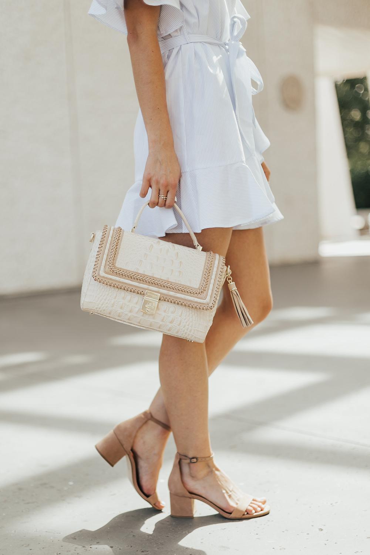 casual ruffle dress photo - 1