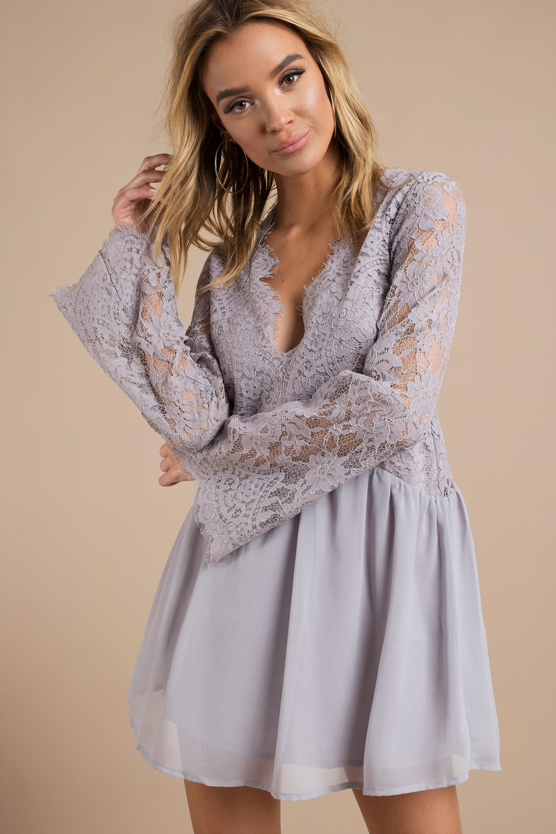 casual shift dress with sleeves photo - 1