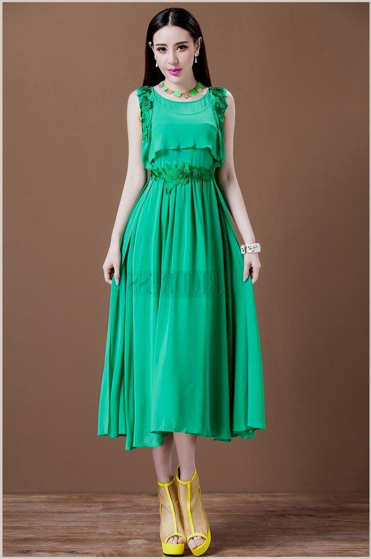 2abc87e7d614 Pastel Coloured Knee Length Dresses